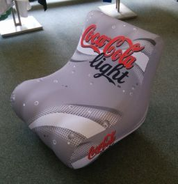 Bubble Seat CocaCola