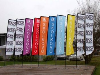 Square-Flags für die Expo 2020