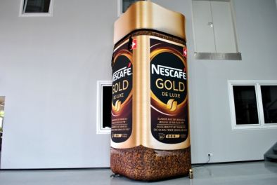 5 Meter Nescafe-GOLD-Dose
