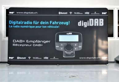 Zipper Wall 6 Meter DigiDAB