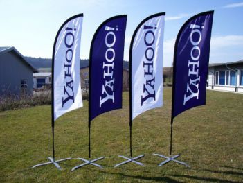 Flying Banner für Yahoo