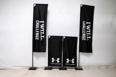 Square Flags für Under Armour