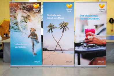 Rollup Banner Classic für Thomas Cook