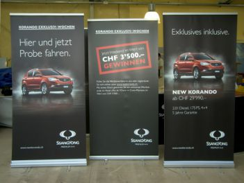 Rollup Banner Classic für Ssang Yong