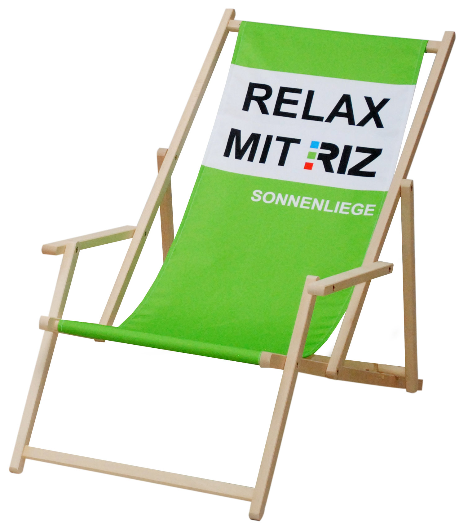display max holzliegestuhl mit armlehne hochwertiger liegestuhl f r jedes event. Black Bedroom Furniture Sets. Home Design Ideas