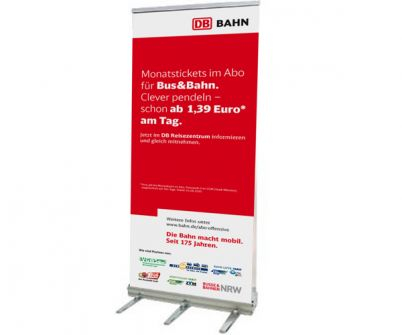 Rollup Outdoor Doppel 80x160 cm