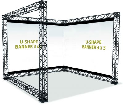 Traverse U-Shape 3x3